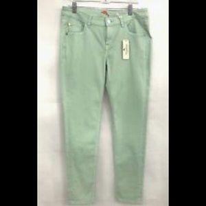 Tommy Bahama ankle seafoam jeans #4